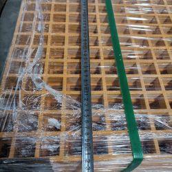 Grelhas quadradas de alta qualidade cobertura de água de esgoto fibra de vidro FRP Grelha FRP