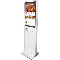 32 pulgadas de pantalla táctil Self Service Paymeny kiosco para pedir la comida rápida Mcdonald's/Kfc/restaurante/Supermercado