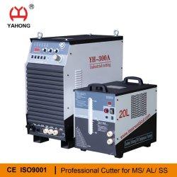 Taglierina per plasma HF da 300 AMP con cavo per refrigeratore e torcia Piastra da 30 mm