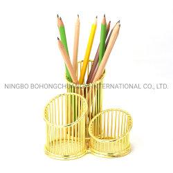 3 Gird métal de l'étudiant de la Papeterie multifonction de la créativité Desk Porte-stylet Burush Crayon de stockage