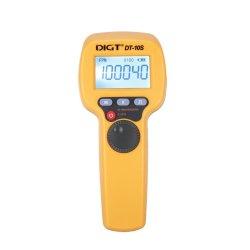 7,4 V 2200mAh 60-99999 Flash/Min 1500lux Asa estroboscopio LED Flash Velocimeter Medición de velocidad de rotación (DT-10S)