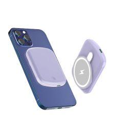 5000mAh Powerbank Magnético 15W de potência de carregamento sem fios rápida Bank para I PHONE 12 Magsafe Carregador da bateria do telefone celular