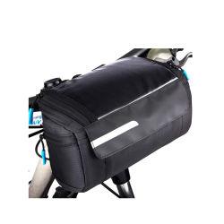 Bike подкрученные мешки, велосипеды чехол на раме велосипеда водонепроницаемый компактный с сенсорным экраном для быстрого освобождения держателя сотового телефона велосипедный мешок