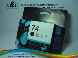 Cb335W/#74 Cartucho de tinta nuevo uso para HP Officejet J5780 Todo-en-uno