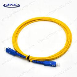 El modo Single Sc-Sc 3m Cable de conexión de fibra óptica la rápida transmisión