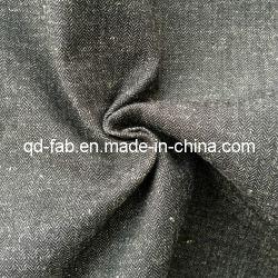 Fils de coton/lin teints tissus pour chemises (QF13-0766)