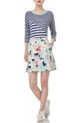 P1709-0075 Fashion Sports exécutant d'été de courte Active Wear jupe des femmes