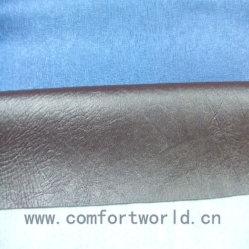 Preto smoking / Elk couro de PVC (SAPV00014)