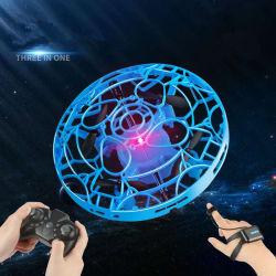 3 в 1 Новинка мини-индуктивный ручной пульт дистанционного управления смотреть UFO управления полет самолета Drone игрушки для рождественских подарков