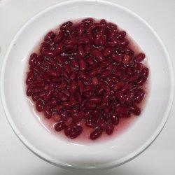 In Büchsen konservierte Gemüsebohnen mit Halal