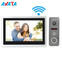 """Ring van de Telefoon van de Intercom van WiFi IP van het Huis van nieuwe Producten de Slimme Video Draadloze Deurbel HD VideoKlok van de Deur van de Intercom 10 """" de Veiligheid van IRL van het Huis van het Geheugen VideoDoorphone"""