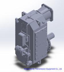 Scatola ingranaggi dura della superficie del dente di alta coppia di torsione di dlg 320 per la macchina dello stampaggio ad iniezione