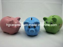 Ceramisch Spaarvarken, de Bank van het Geld
