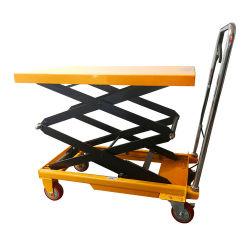 Стороны подвижной погрузчика с подъемный стол ножничного типа