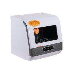Vorderseite geöffnete Minigegenoberseite-Tisch-Spülmaschine für 3-6 Leute