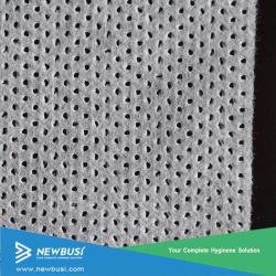 Fluido Spunbond camada permeável Cloth-Like Folha Superior para fraldas para bebé