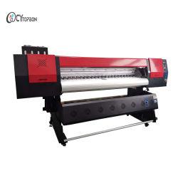 1,6 millones de Gran Formato Digital de la impresora de inyección de tinta solvente ecológica con DX5 fabricante de máquinas de impresión de la cabeza