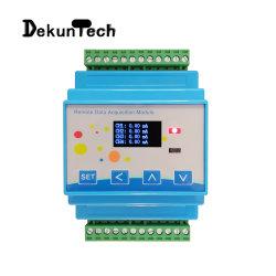 高精度8チャネルの電圧および現在のアナログ信号の入れられたデジタル表示装置の情報処理機能をもった遠隔データ収集モジュール