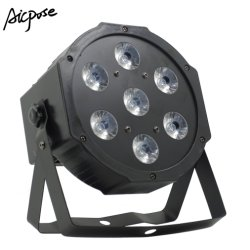 7X12W LEDの同価はRGBW 4in1の平らな同価ライトをつける