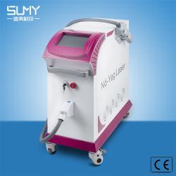 Haute puissance laser YAG Q-switch Tattoo dépose les soins du corps Freckle/Rides Dispositif de dépose/spot