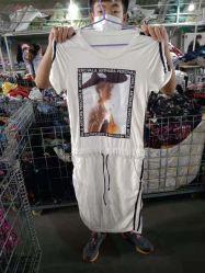 Les femmes s' utilisé Clthing écope cou à manches courtes Tee-shirt du sommeil