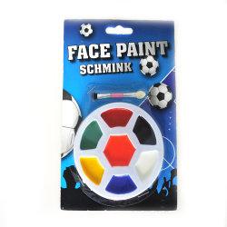 スポーツ・ファンのフットボールのファンの表面ペンキのクレヨン