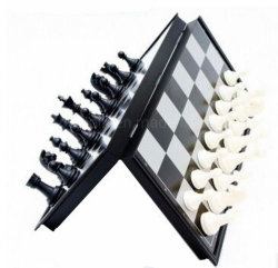 Oem Educational Toy Folding Magnetic Plastic Schaakbord Set