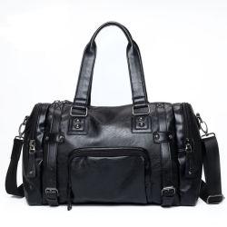 Новый кожаный взять на себя новый стиль большой Messenger дорожная сумка Duffle