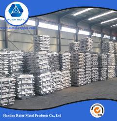 알루미늄 공급은 출하 시 99.7% 99.99%를 얻었습니다