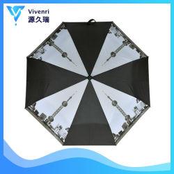 مظلة الفتح الأوتوماتيكي 3 مظلة مطوية شاطئ الأكاديمية شمس خارجية مروحة المطر