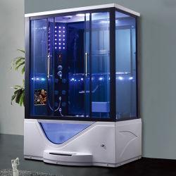 Роскошная современная конструкция дома Компактный паровой душ в ванной джакузи