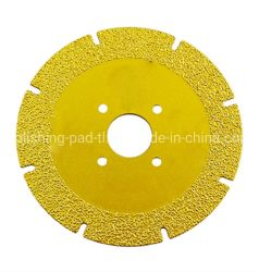 Het snijden van Blad van de Zaag van de Diamant van de Malende Schijf het Solderende voor Scherpe Steen/Ceramisch