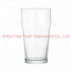 Nuevo diseño de los precios al por mayor de 8*17cm Jarra de cerveza de vidrio