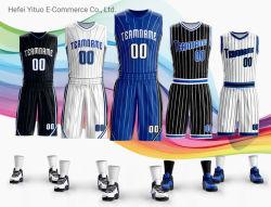 Der Verkauf der besten Sublimation-Drucken-Magie trocknete Sitz-schnell Basketball-Sportkleidung