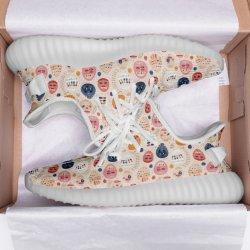 Dropshipping Commerce de gros hommes Mesdames fashion personnalisé de haute qualité imprimées occasionnels Chaussures femmes Sneaker en toile de plate-forme des chaussures de course