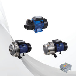 24V 48V 72V 750W de energia solar da bomba de água de superfície DC com controlador interno/externo
