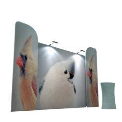 China barata Banner stand de exhibición de tensión de pantalla de tubo de tela promocionales