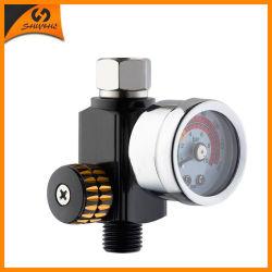空気圧縮機空気油圧液体圧力計