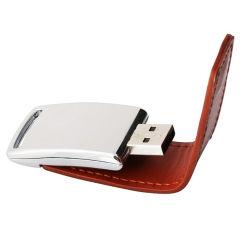 Personifiziertes Firmenzeichen 4GB 8GB 16 GBs USB-Leder