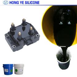 Корпус из негорючего материала хорошего текучести RTV2 две части силиконовой резины для светодиодного Potting