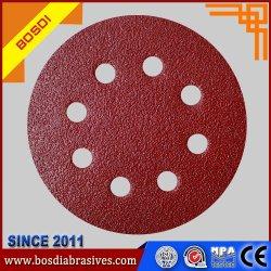 L'oxyde d'aluminium 7 pouces sable abrasif du papier de disque
