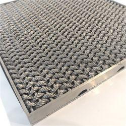 Grating van de Vloer van het Roestvrij staal van het Metaal van Haoyuan/Grating van de Staaf van het Staal Ingang