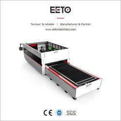CNC van de Scherpe Machine van de Laser van de Vezel van de hoge snelheid de Plaat van het Metaal van het Blad
