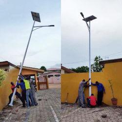 多結晶性ケイ素の太陽電池パネルランプ20Wの太陽街灯