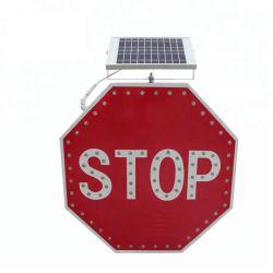 Verkehrssicherheit-WARNING-Endzeichen der Sonnenenergie-LED blinkende