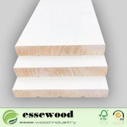 وايت بريميد رادييت باين الجدار قاعدة الطابق skiring Board الصينية لوحة Baseboard مصنوعة من الخشب الصلب