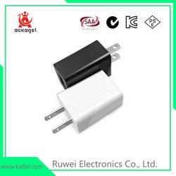 Les téléphones cellulaires de l'UE chargeur USB standard 5V/2 un chargeur rapide