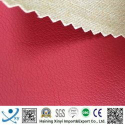 Home Textiel gebruik en PU Type leder voor stoffering