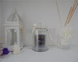 دورق زجاجي فخم شمعة معطرة بسم مع شعار Pravite أو العلامة التجارية للهدية