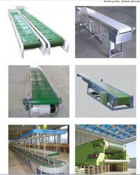 음식 급료 생산 라인 쐐기를 붙이곤/포장 산업을%s Hairise PU/PVC 벨트 콘베이어